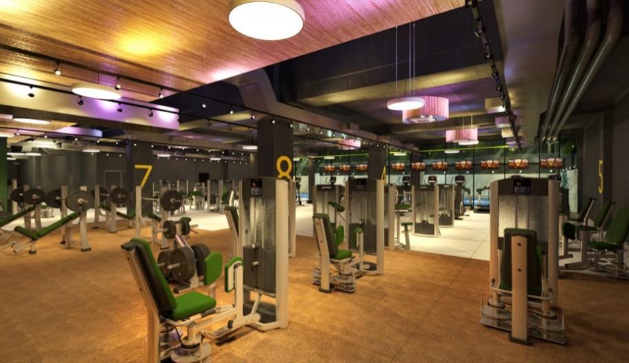 Бизнес-центр YE'S в Москве. Тренажерный зал.