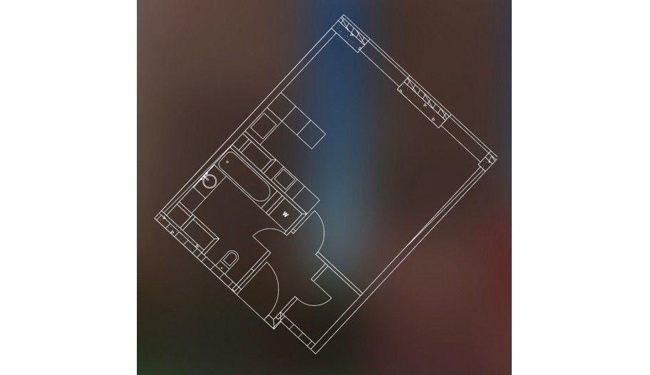 Однокомнатная квартира-студия в новостройке ЖК «Пресня Сити» в Москве.