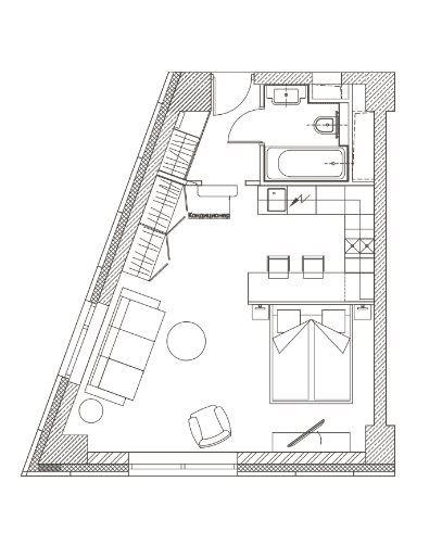 План офисов в бизнес-центре YE'S