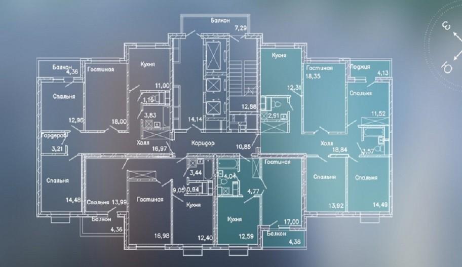 Поэтажные планы квартир новостройки в Митино, Москва ЖК «LIFE-Митинская ECOPARK»