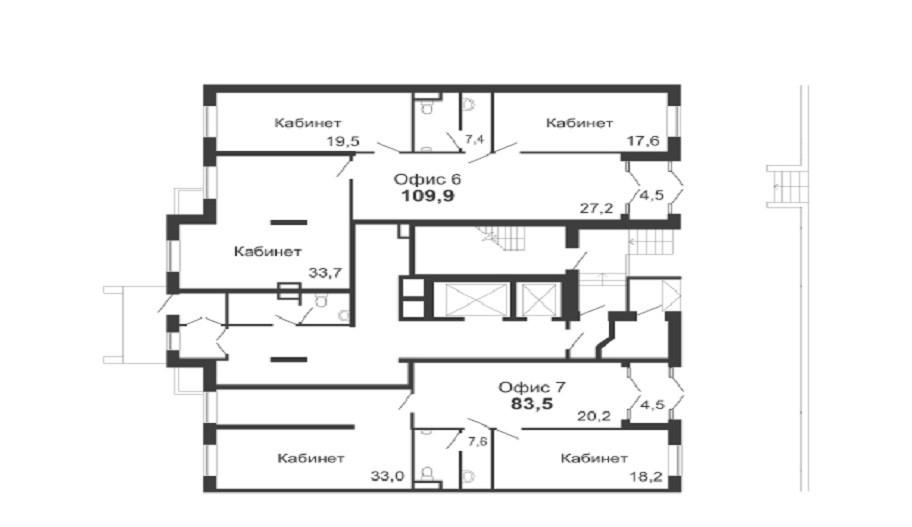Поэтажные планы апартаментов новостройки в Медведково, Мытищи. Микрорайон «Новое Медведково»