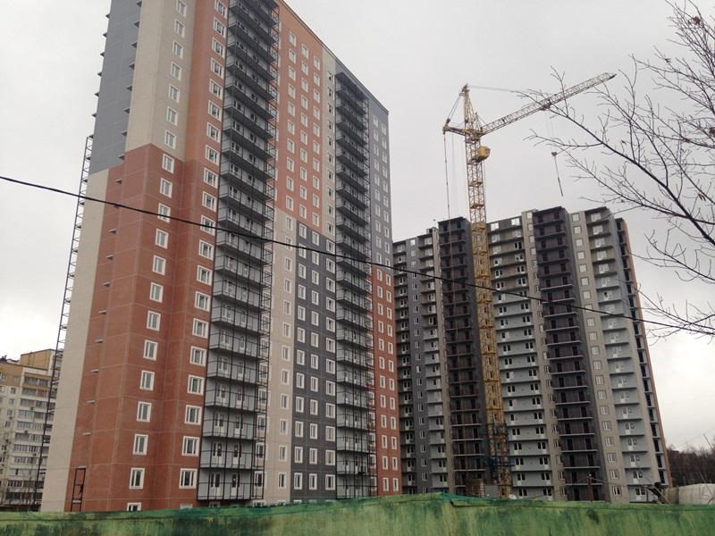 Новостройка в Москве ЖК «Мичурино-Запад» ЗАО. Идет строительство.