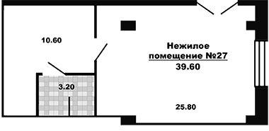 Готовое нежилое помещение в новостройке в новостройке Москвы ЖК «Менделеев»