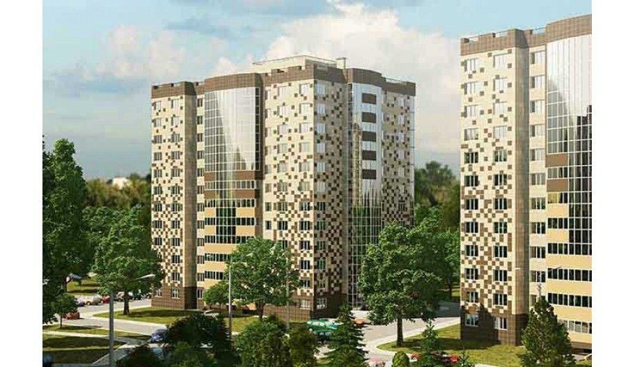 Новостройка жилой комплекс «Мелодия леса» в Подмосковье, Зеленоград. Вид с улицы.