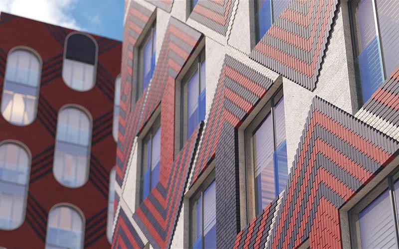 Квартиры в новостройке Москвы комплекс «Зилард». Фасад.