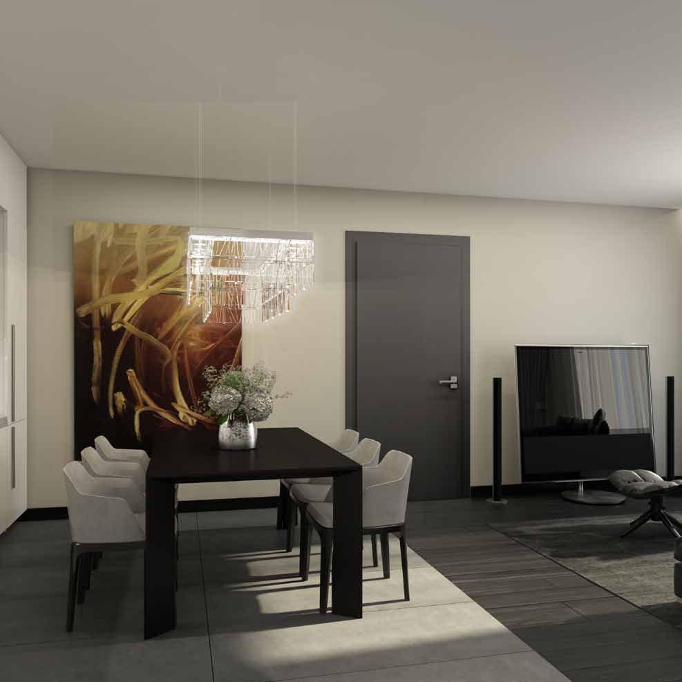 Апартаменты бизнес-класса с 2 спальнями: пять типов планировок от 58 до 76 м 2 от 10,2 до 17,3 млн. руб.