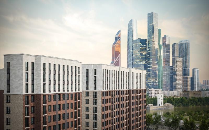 Апартаменты в новостройке ЗАО Москвы комплекс «ONLY». Общий план.